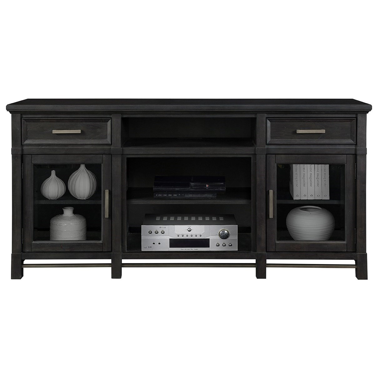 Jane Media Console by Dimplex at Jordan's Home Furnishings