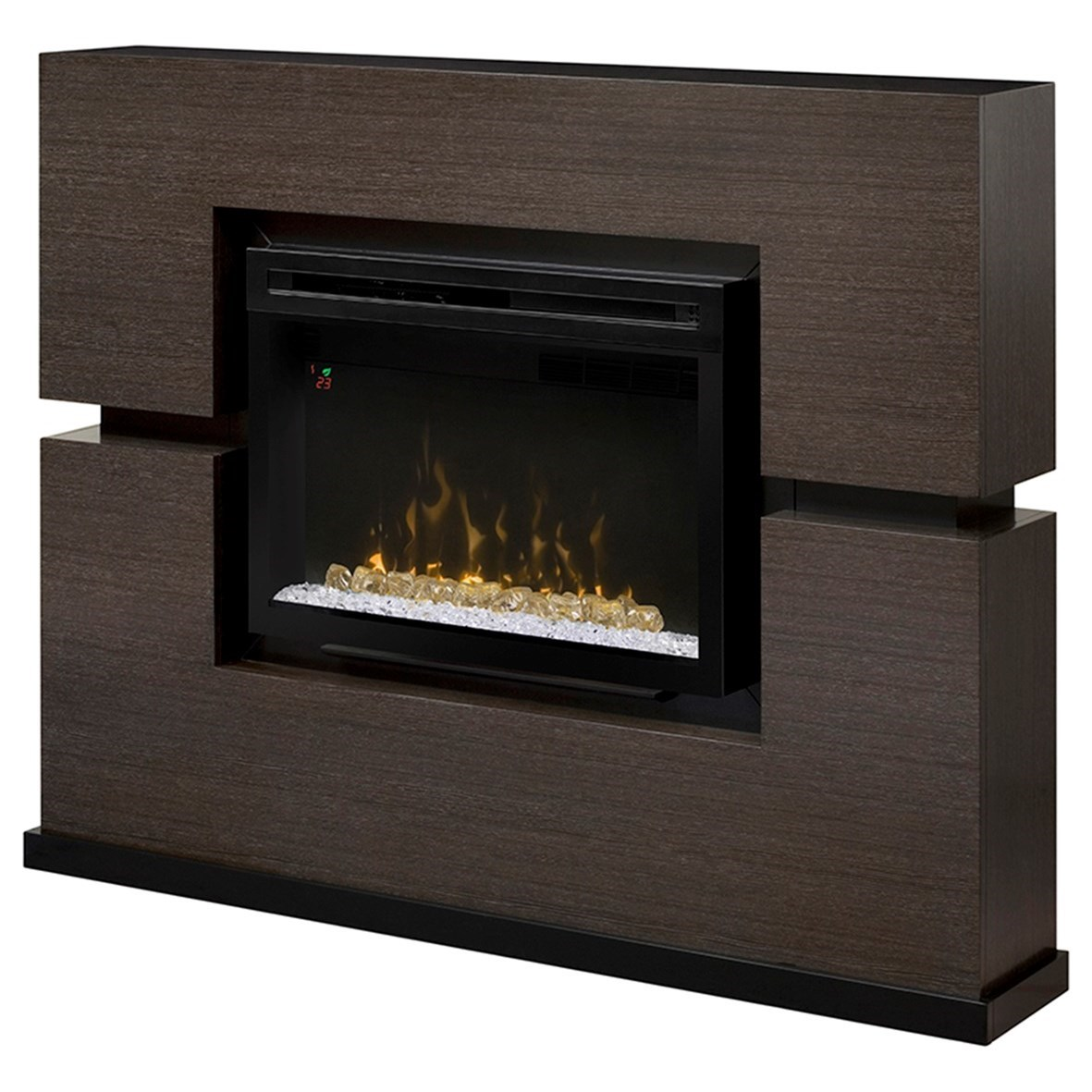 Linwood Fireplace and Mantel by Dimplex at Jordan's Home Furnishings