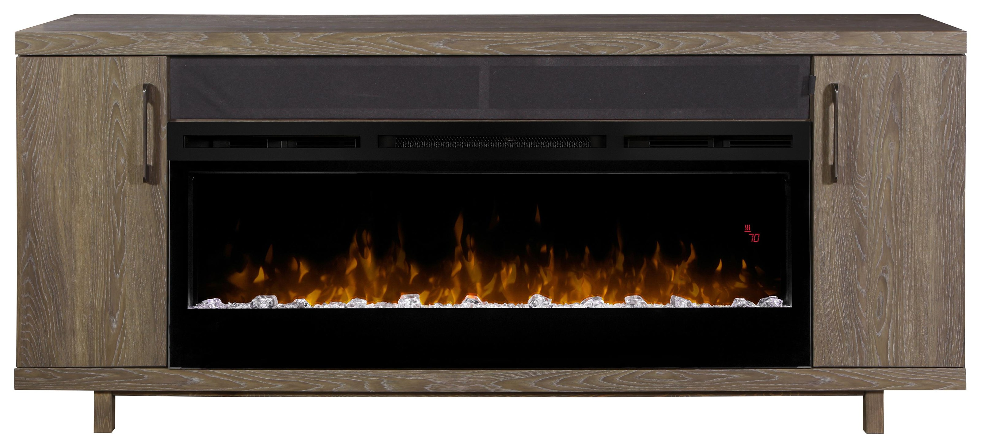 Marvin Media Console Fireplace by Dimplex at Darvin Furniture
