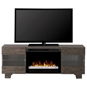 Max Acrylic Ice Media Mantel Fireplace