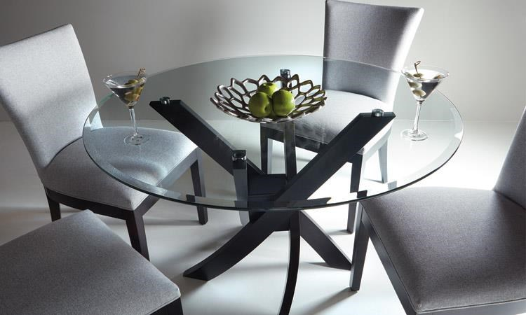 Glass Top Dining Tables Dinec Dining Table by Dinec at Upper Room Home Furnishings