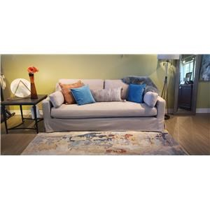 Slipcover Sofa with Deep Seat