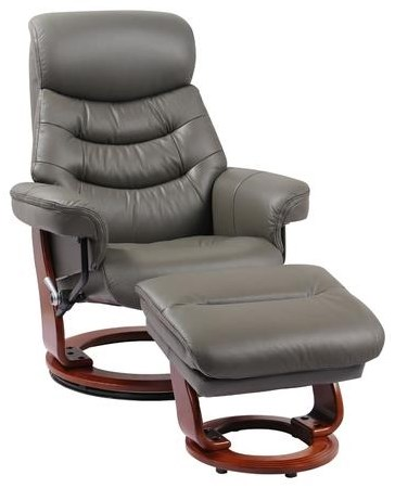 Happy Recliner and Ottoman by Donald Choi Canada at Stoney Creek Furniture