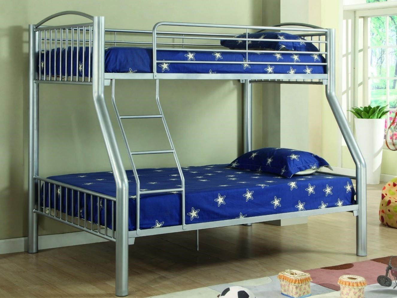 Norden Norden Twin/Full Bunk Bed by Donco Trading Co at Morris Home