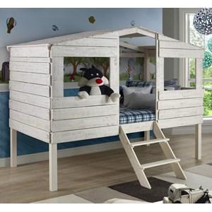 Honeydew Twin Tree House Bed