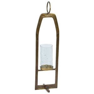 "36"" Cast Aluminum Candle Stand"