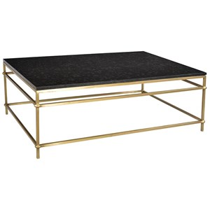 Arden Coffee Table Black Marble