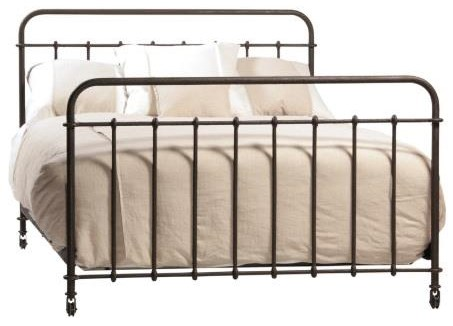Queen Metal Bed at Williams & Kay
