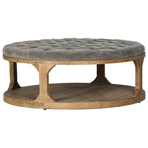 Cadiz Coffee Table with Button Tufting