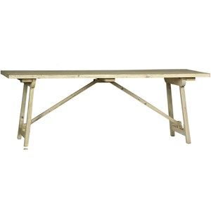 Old White Cavendish Dining Table