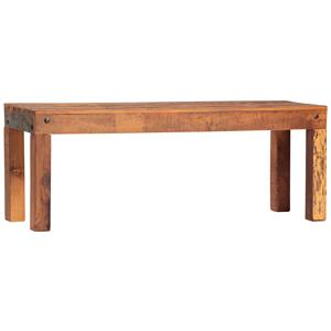 Wood Plank Coffee Table