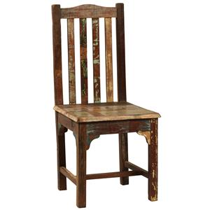 Dining Side Chair w/ Slat Back