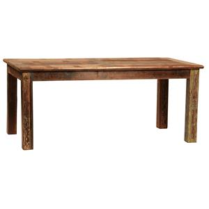 Rectangular Dining Leg Table