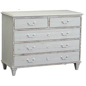 Dudley 5 Drawer Dresser Chest