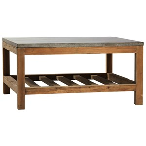 Dagny Coffee Table with Reclaimed Wood