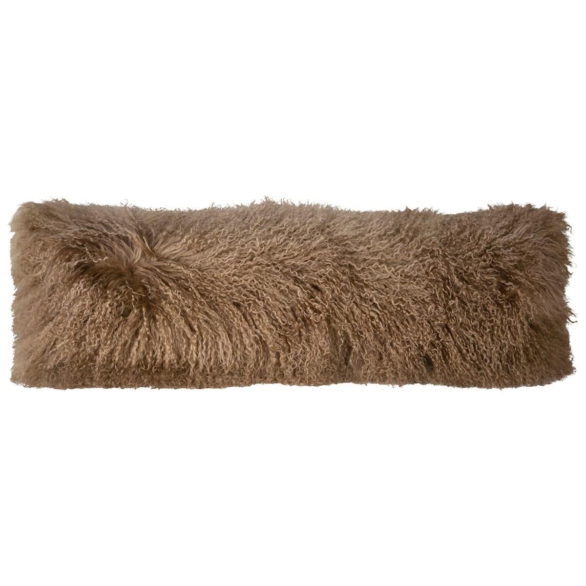 Mohair Mohair Beige Pillow at Williams & Kay
