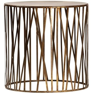 Steel Round Side Table
