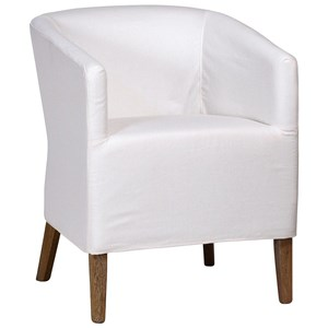 Warren Upholstered Dining Arm Chair