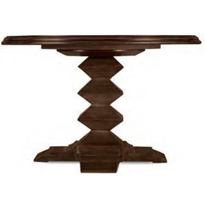 """Drexel Gourmet Dining Escher Dining Table with 48"""" Round Wood Top"""