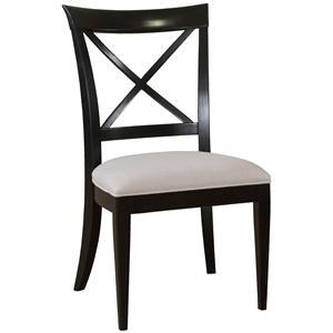 "Drexel Gourmet Dining ""X"" Side Chair"