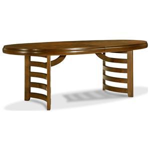Drexel Renderings Leade Oval Dining Table