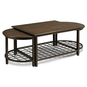 Drexel Viage  Traveler's Cocktail Table with End Table Set