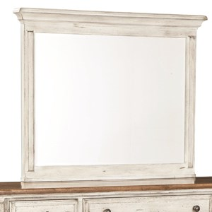 Vertical Frame Dresser Mirror with Beveled Glass