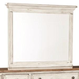Vertical Frame Dresser Mirror with Beveled Glass