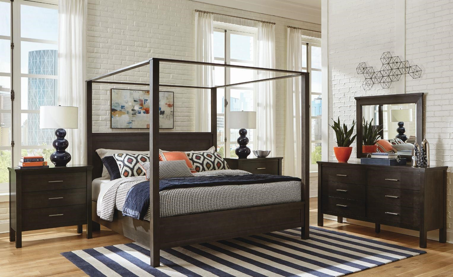 191 Queen Poster Bed with Canopy by Durham at Stoney Creek Furniture