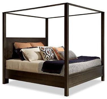 191 King Poster Bed with Canopy by Durham at Stoney Creek Furniture