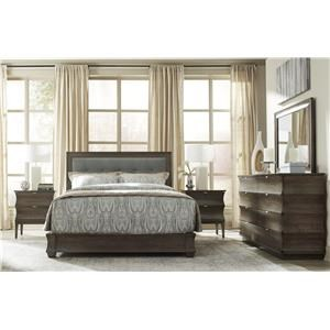 Queen Tufted Upholstered Bed