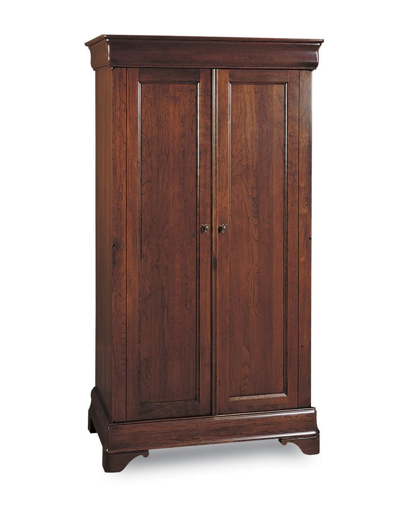 Chateau Fontaine Armoire by Durham at Jordan's Home Furnishings