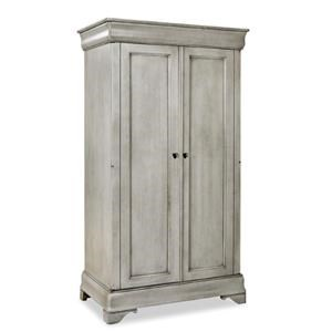 Traditional Solid Wood Bedroom Armoire
