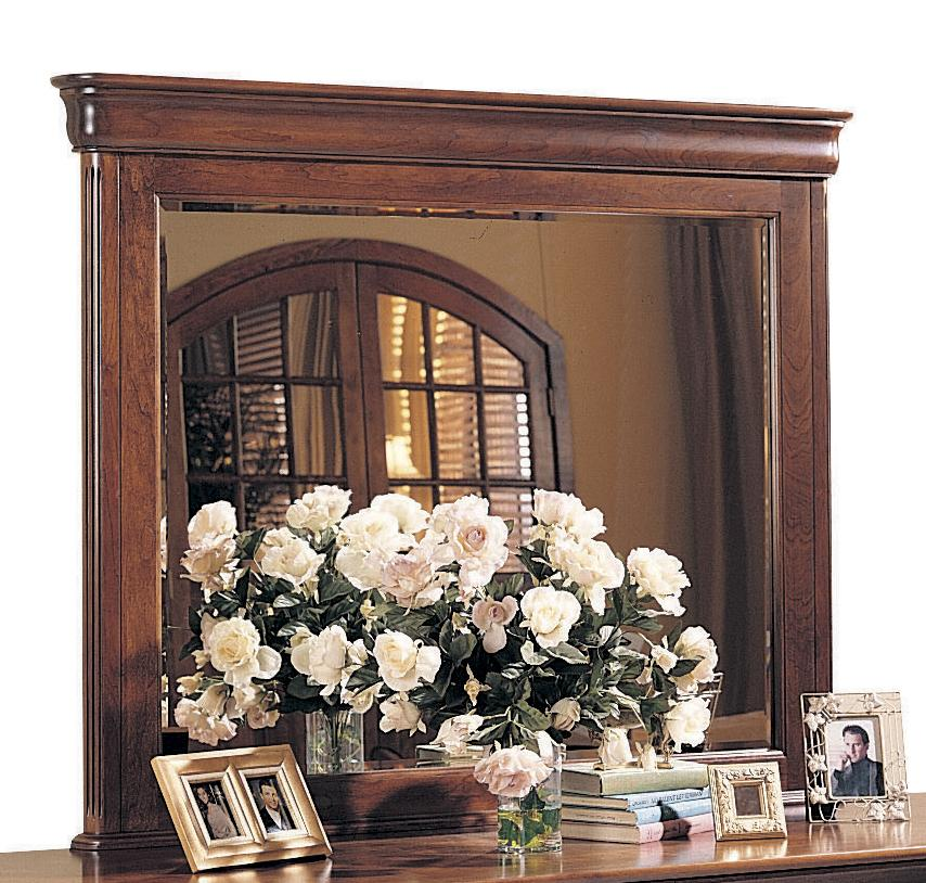 Chateau Fontaine Landscape Mirror by Durham at Jordan's Home Furnishings