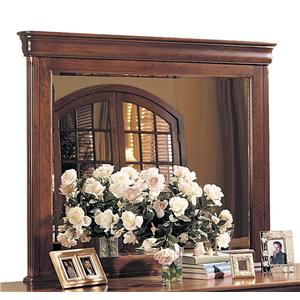 Traditional Solid Wood Landscape Mirror