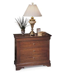 Traditional Solid Wood Bedside Chest