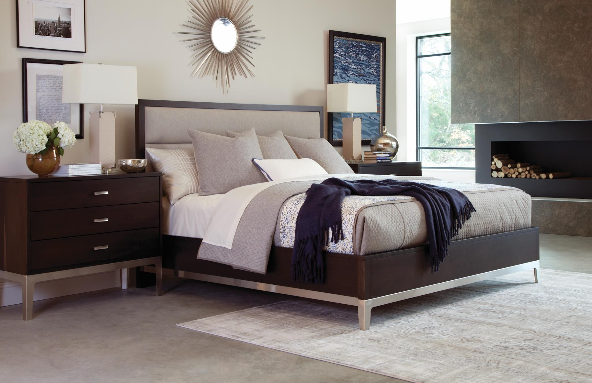 Defined Distinction Queen Upholstered Bed by Durham at Stoney Creek Furniture