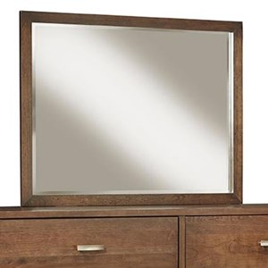 Vertical Mirror with Solid Wood Frame