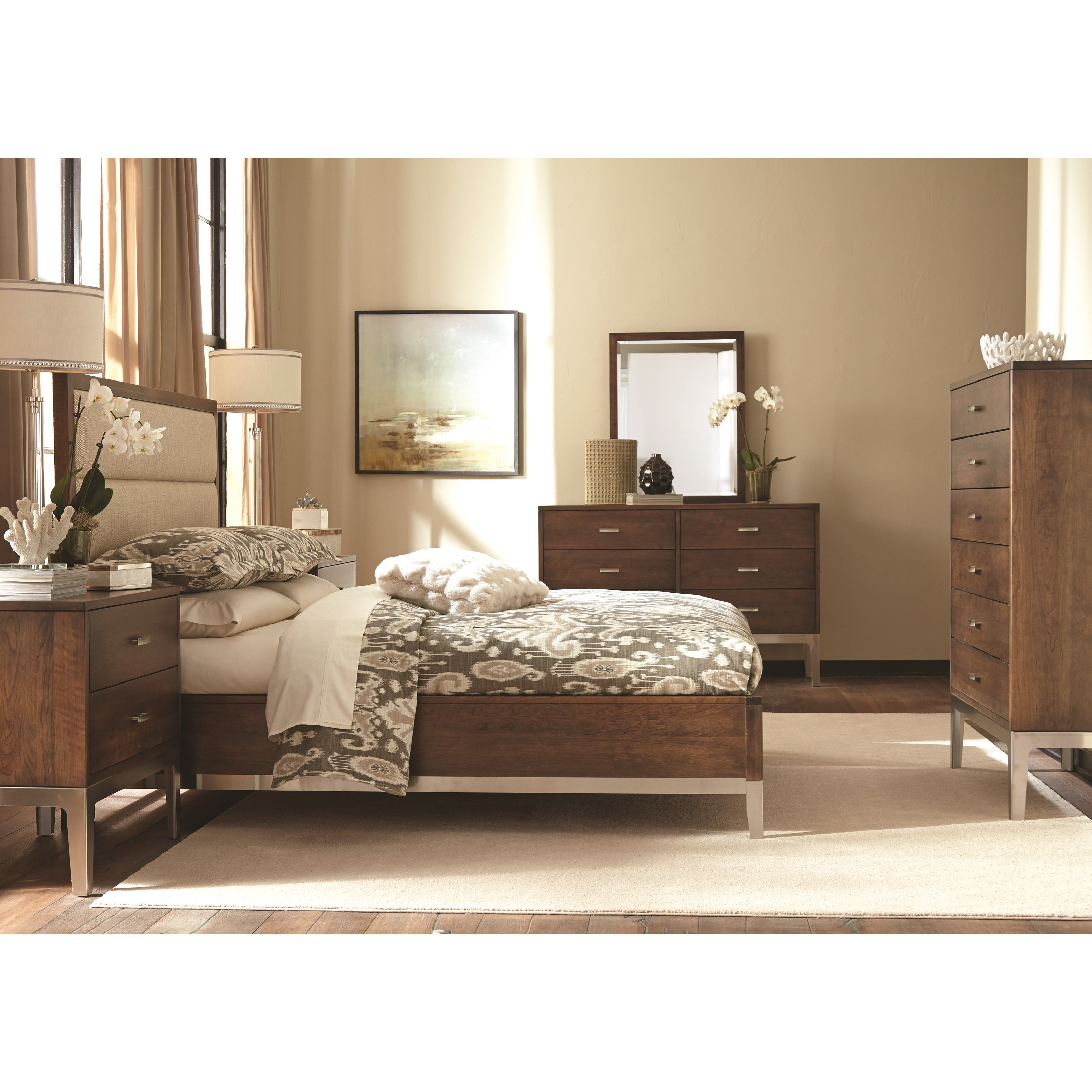 Defined Distinction King Bedroom Group by Durham at Jordan's Home Furnishings