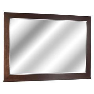 Simplified Landscape Mirror for Bedroom Dresser