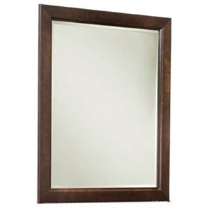 Solid Maple Vertical Frame Mirror