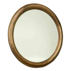 Durham Hudson Falls  Round Mirror