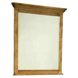 Rustic Vertical Mirror for Dressing Chest Use