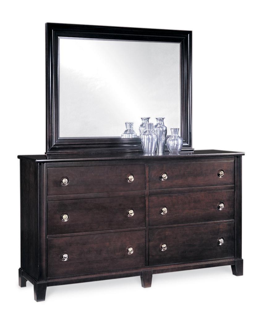 Manhattan  Dresser & Mirror Combo by Durham at Stoney Creek Furniture