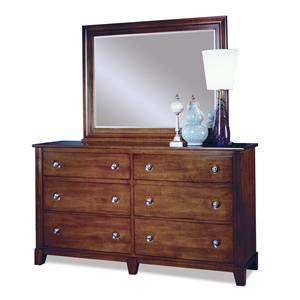 Durham Manhattan  Dresser & Mirror Combo