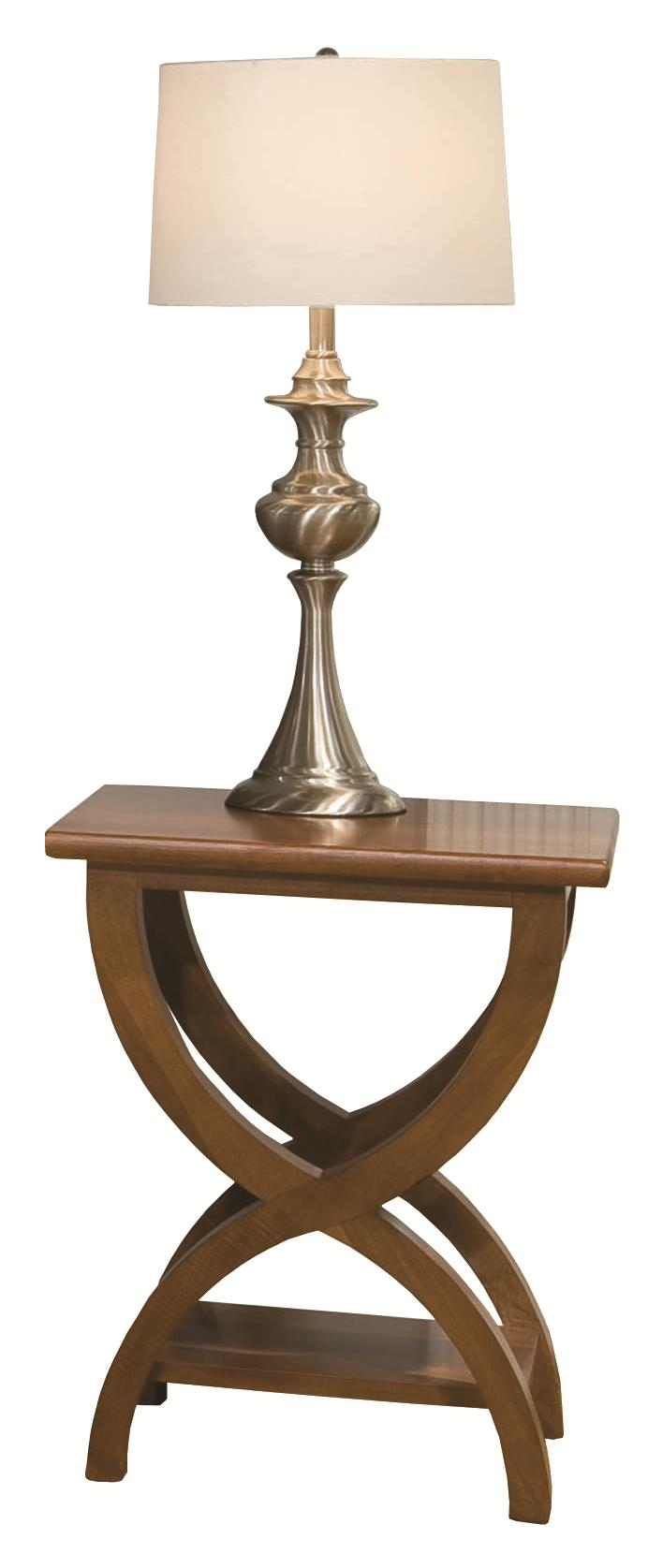 Occasional Tables Durham Transitional Chairside Table by Durham at Jordan's Home Furnishings