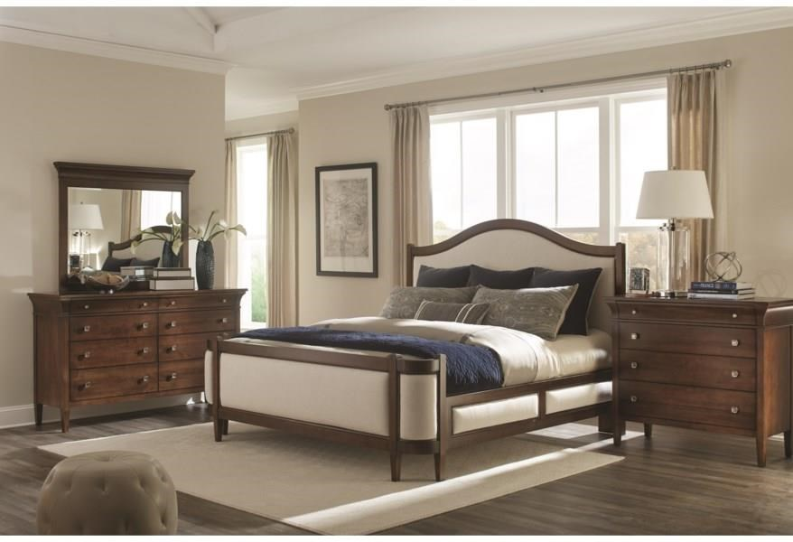 Prominence Queen Grand Upholstered Bed by Durham at Stoney Creek Furniture