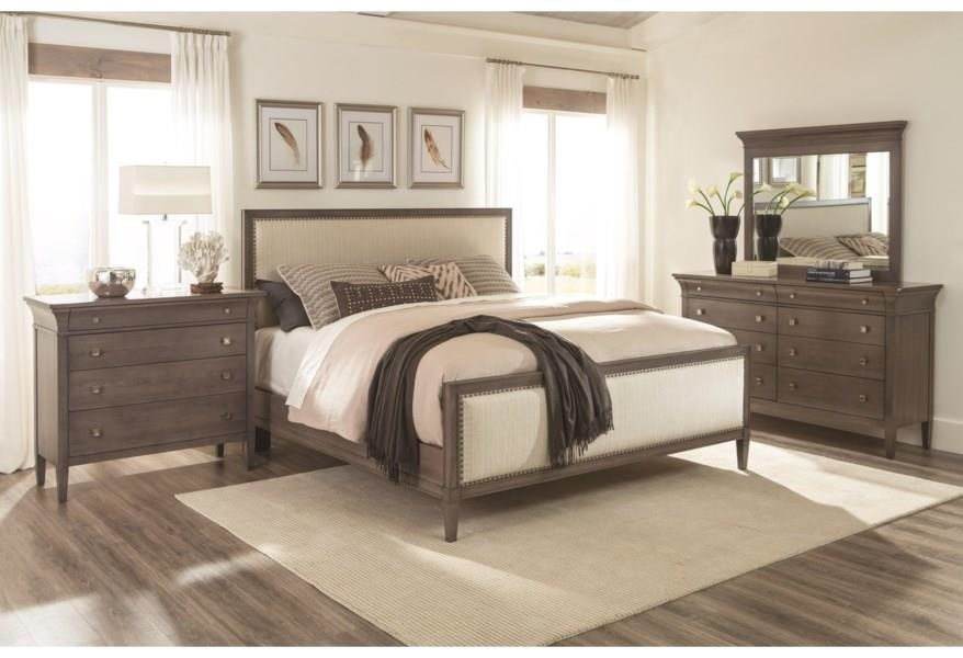 Prominence King Panel Bed by Durham at Stoney Creek Furniture