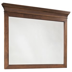 Mirror with Crown Molding
