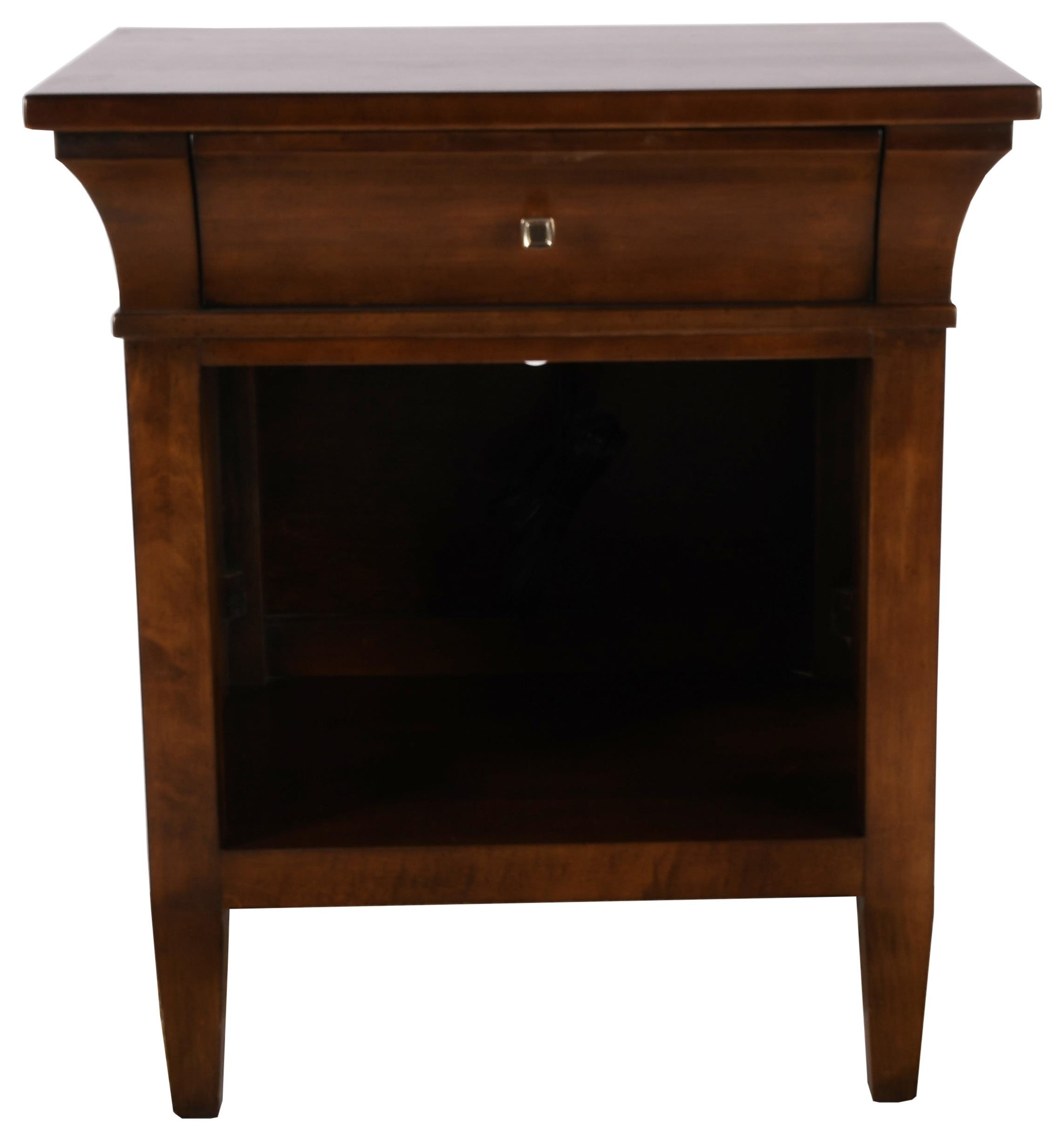 Prominence Nightstand by Durham at Bennett's Furniture and Mattresses